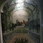 una parete dipinta