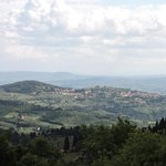 Valley view - Florence below