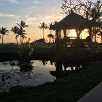 A beautiful sunset every evening... Beautiful!