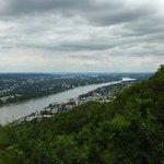 Blick über Königswinter und Bonn