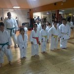 Karate and boxing lessons in our Gym