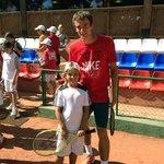 Andrei Kuznetsov, top tennis player! Always trains with us!