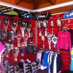 Our tennis shop! All you need for tennis and padel!