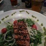 Pesto Salmon Dinner