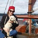 Abby - the ship's dog