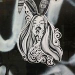 Bunny paste up
