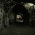 Vista delle gallerie del Cryptoportico