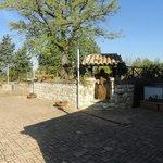 Esterno spazio giardino relax