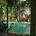 et la piscine du Baan chang