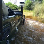 You're gonna drive through some deep water!