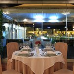 Enjoy you meal with a wonderful view over Tirana City Center.