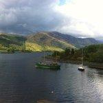 view on lake at Glencoe