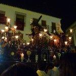 procession of La Semana Santa