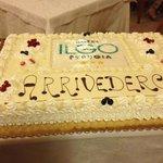 torta dell'arrivederci