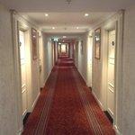 коридор на этажах