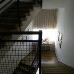 The beautiful Bauhaus stairs