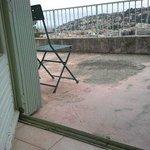 état de la terrasse