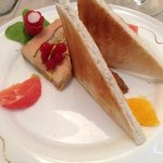 pressé de foie gras de canard