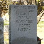 Author's Ridge marker