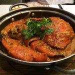 Delicious jumbo crab