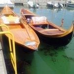 The beautiful boats