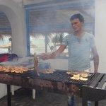 La griglia del ristorante Laguna