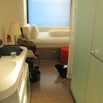 Een standaard kamer in CitizenM