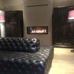 Lounge gedeelte aan restaurant