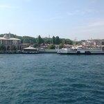 Boats in Sirkeci pier