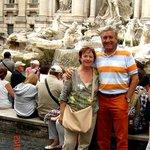 Trevi fonteinen