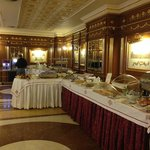 Lovely breakfast buffet