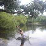 Rope Swing on the River