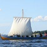 Sejltur med vikingeskib
