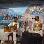 Músicos e seus instrumentos etíopes.