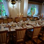 Vila Istra wedding table