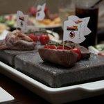 Selaction Of Exotic Steaks