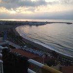 View from balcony towards Marina