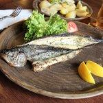 Рыба гриль