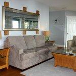 Ocean Vista Suite - Living area with ocean view