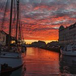 Nyhavn on an early winter morning