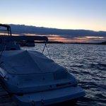 Sunset from Knockninny Marina