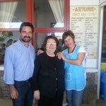 Antonio, Mama and Agi, lovely people