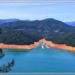 Lake Shasta seen from around the cavern entrance