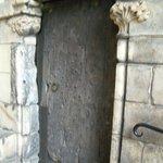 An ancient door at Holyrood