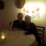 Candlelight dinner in II Tridente