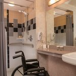 ADA Compliant Room and Bathroom