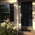 Our own front door