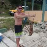 Sydney's Beach Bar - yes you catch your own lobster!