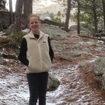 Cold May at Mount Rushmore