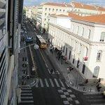 Blick auf die Rue de l'Hotel des Postes